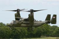 168324 @ LFRB - Presidential USMC Bell-Boing MV-22B Osprey (Code 08-cn D0226) on final rwy 25L, Brest-Bretagne airport (LFRB-BES) - by Yves-Q