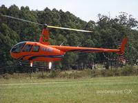 CX-CAV @ SUPE - Robinson R44 Raven II. - by aeronaves CX