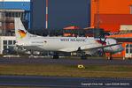 G-BTPF @ EGGW - Atlantic Airlines - by Chris Hall