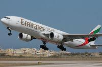 A6-EMJ @ LMML - Runway 31 - by Roberto Cassar
