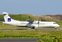 LY-ATR @ EKCH - LY-ATR   Aerospatiale ATR-72-202 [508] ( DOT-Danu oro transportas) Copenhagen-Kastrup~OY 10/06/2008. On lease to SAS.