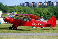 SE-XMD @ ESKB - Piper PA-18-95 Super Cub [18-1576] Stockholm-Barkarby~SE 07/06/2008