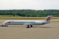SE-RDR @ ESSA - McDonnell Douglas DC-9-82 [49151] (Nordic Airlink) Stockholm-Arlanda~SE 06/06/2008