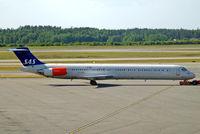 OY-KHC @ ESSA - McDonnell Douglas DC-9-82 [49434] (SAS Scandinavian Airlines) Stockholm-Arlanda~SE 06/06/2008