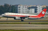 B-6770 @ ZGGG - Sichuan A320 landing - by FerryPNL