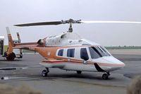 D-HCAD @ EDDN - Bell 222A [47027] Nuremberg-Nurnberg~D 03/05/1983. From a slide. - by Ray Barber