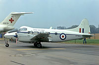 G-BLRB @ EGVA - de Havilland DH-104 Devon C.2/2 [04212] RAF Fairford~G 14/07/1985. Marked VP962, from a slide.