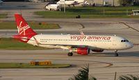 N361VA @ FLL - Virgin America A320
