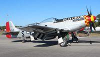 N451MG @ SUA - P-51D Old Crow