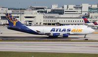 N458MC @ MIA - Atlas