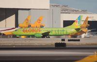 N515AC @ MIA - Globus 737-400