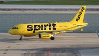 N534NK @ FLL - Spirit yellow banana
