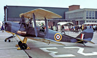 T8191 @ EGDY - De Haviland DH.82A Tger Moth [84483] (Royal Navy) RNAS Yeovilton~G 31/07/1982. From a slide.