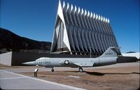 55-2967 @ KAFF - At the USAF Academy, Colorado Springs, Colorado in 1992. - by Alf Adams