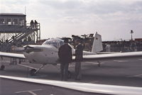 D-EAVE @ EDDV - Prototype of the glider tug  ESS 641. Hanover show 1972. - by Raymond De Clercq