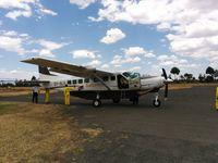 5Y-SLG @ HKNY - Parked at Nanyuki airfield, Kenya - by EMF