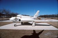 46676 @ KAFF - Displayed at the USAF Academy, Colorado Springs, Colorado in 1992. It is now at the Air Force Flight Test Museum, Edwards Air Force Base, California. - by Alf Adams