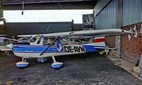 OE-AYN @ LOLU - Cessna 150D [150-60596] Gmunden~OE 04/05/1983. From a slide.