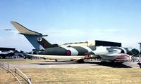 XL231 @ EGCN - Handley-Page Victor K.2 [HP80/76] (Royal Air Force) RAF Finningley 30/07/1977. From a slide.