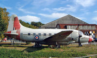 WF372 @ EGLB - Vickers Varsity T.1 [531] (Royal Air Force) Weybridge~G 18/10/2003