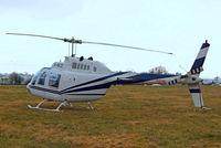 G-BKZI @ EGBC - Bell 206B Jet Ranger II [118] Cheltenham Racecourse~G 17/03/2010
