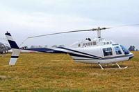 G-BKZI @ EGBC - Bell 206B Jet Ranger II [118] Cheltenham Racecourse~G 18/03/2010