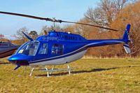 G-BSBW @ EGBC - Bell 206B3 Jet Ranger III [3664] Cheltenham Racecourse~G 16/03/2010