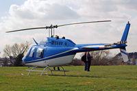 G-BSBW @ EGBC - Bell 206B3 Jet Ranger III [3664] Cheltenham Racecourse~G 18/03/2011