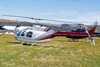 G-JLEE @ EGBC - Agusta-Bell AB.206B3 Jet Ranger III [8588] Cheltenham Racecourse~G 16/03/2010