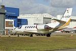 D-CHZF @ EGGW - 1999 Cessna 550B Citation Bravo, c/n: 550-0866 at Luton - by Terry Fletcher