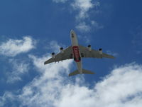 A6-EEH @ NZAA - on short finals over manukau city - by magnaman