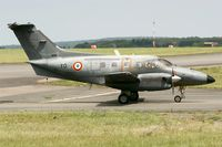 098 @ LFOA - Embraer EMB-121AA Xingu, Taxiing to parking area, Avord Air Base 702 (LFOA)  Air Show in june 2012 - by Yves-Q