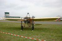 LX-TEC @ LFRN - Bleriot XI Replica, Static display, Rennes-St Jacques airport (LFRN-RNS) Air show 2014 - by Yves-Q
