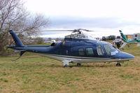 G-CDWY @ EGBC - Agusta A.109S Grand [22011] Cheltenham~G 12/03/2009