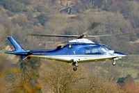 G-CDWY @ EGBC - Agusta A.109S Grand [22011] Cheltenham~G 17/03/2010