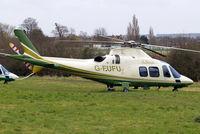 G-FUFU @ EGBC - Agusta A.109S Grand [22058] (Air Harrods) Cheltenham~G 13/03/2008