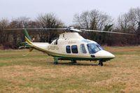 G-FUFU @ EGBC - Agusta A.109S Grand [22058] (Air Harrods) Cheltenham~G 19/03/2010