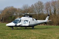 G-GCMM @ EGBC - Agusta A.109 Power Elite [11158] Cheltenham~G 15/03/2011