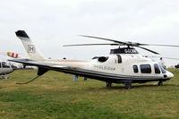 G-GCMM @ EGBC - Agusta A.109 Power Elite [11158] Cheltenham~G 16/03/2012