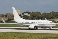 A6-DAS @ LMML - B737-700 A6-DAS Royal Jet - by Raymond Zammit
