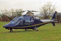 G-IFRH @ EGBC - Agusta A.109C [7619] Cheltenham~G 18/03/2011
