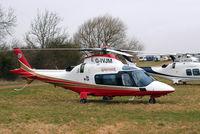 G-IVJM @ EGBC - Agusta A.109E Power Elite [11154] Cheltenham~G 19/03/2010