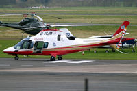G-IVJM @ EGBJ - Agusta A.109E Power Elite [11154] Staverton~G 18/03/2011