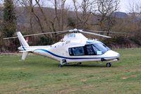 G-IWRB @ EGBC - Agusta A.109A-2 [7386] Cheltenham~G 12/03/2013