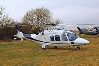 G-MCAN @ EGBC - Agusta A.109S Grand [22021] Cheltenham Racecourse~G 18/03/2010