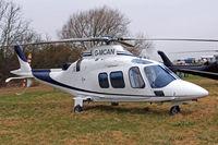 G-MCAN @ EGBC - Agusta A.109S Grand [22021] Cheltenham Racecourse~G 19/03/2010