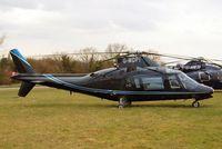 G-MDPI @ EGBC - Agusta A.109A-2 [7393] Cheltenham~G 12/03/2013