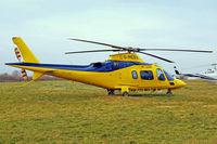 G-MEDX @ EGBC - Agusta A.109E Power Elite [11745] Cheltenham~G 18/03/2010