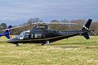 G-ONEL @ EGBC - Agusta A.109C MAX [7630] Cheltenham~G 13/03/2009