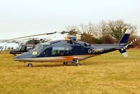 G-OWRD @ EGBC - Agusta A.109C [7649] Cheltenham~G 17/03/2010